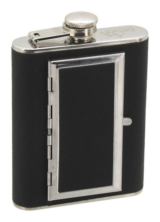 Ploškačka s puzdrom na cigary - 175 ml