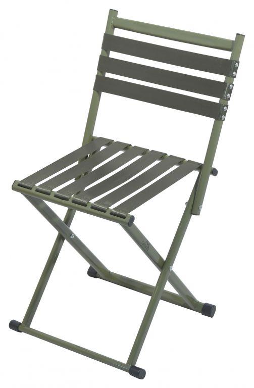 Kempingová skladacia stolička Nature - 37 x 70 x 33 cm