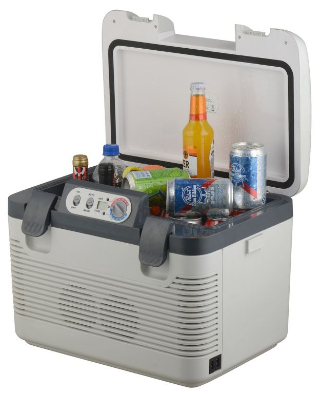 Chladiaci box DOUBLE 19 L + display - 230V/24V/12V