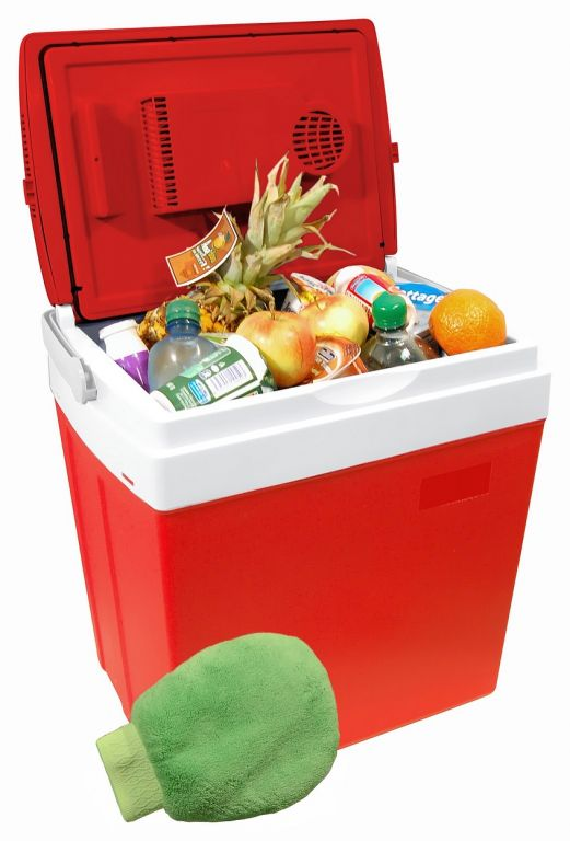 Chladiaci prenosný box - 30 L, displej s teplotou