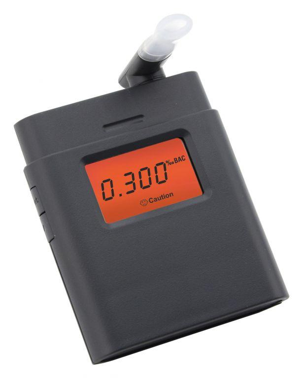 Digitálny dychový alkohol tester - čierny