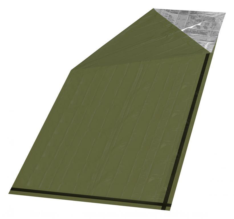 Izotermická fólia zelená SOS - 200 x 92 cm