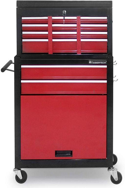 Pojazdná dielenská skriňa, 5 zásuviek, 615 x 330 x 1085 mm