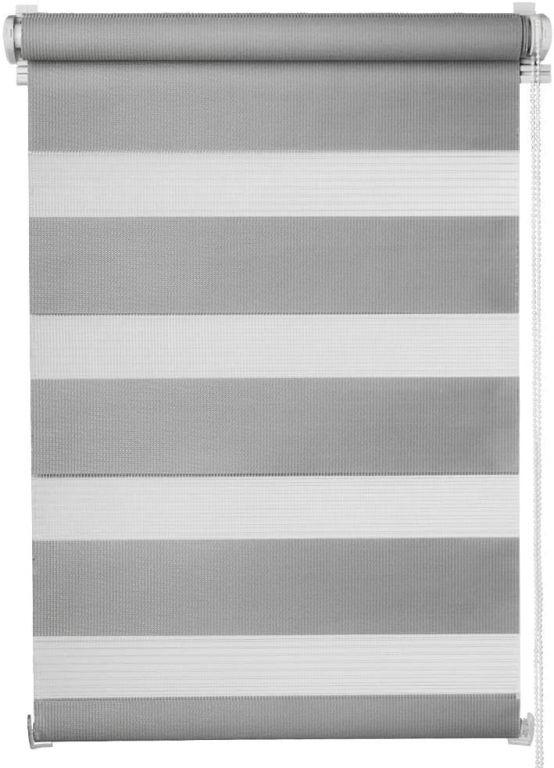 Dvojitá roleta, 120 x 230 cm, sivá