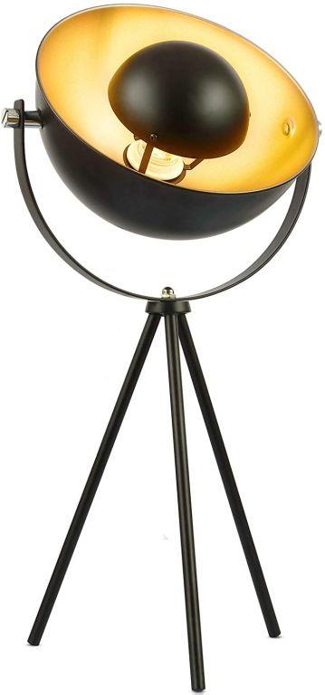 Stolná lampa so stojanom, 22 x 22 x 67 cm