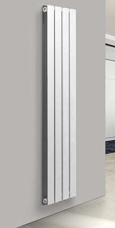 Vertikálny radiátor, stredové pripojenie, 1800 x 304 x 69 mm
