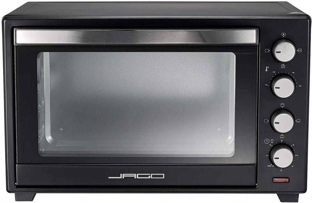 Mini rúra s nastaviteľnou teplotou, 62 x 41 x 40 cm, čierna
