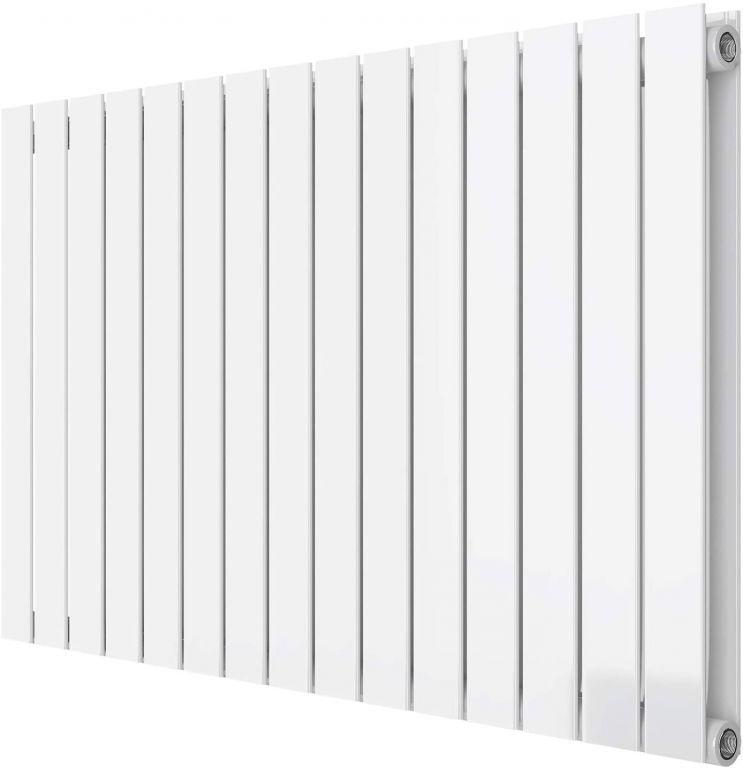 Horizontálny radiátor, stredové pripojenie, 600 x 1022 mm