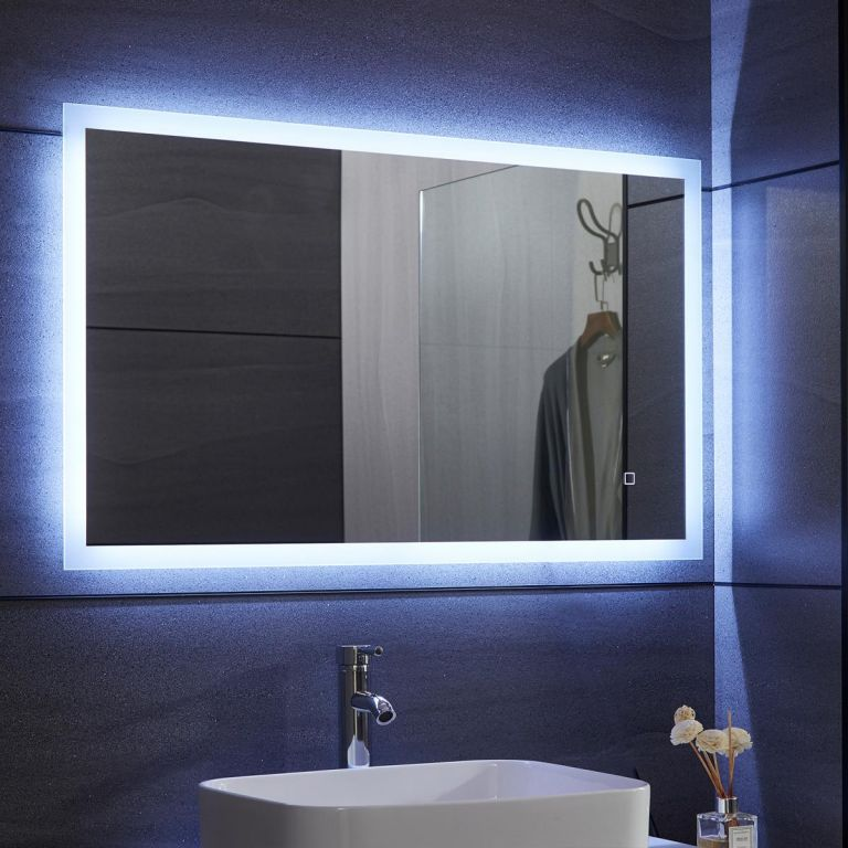 Aquamarin Kúpeľňové LED zrkadlo - 80 x 60 cm