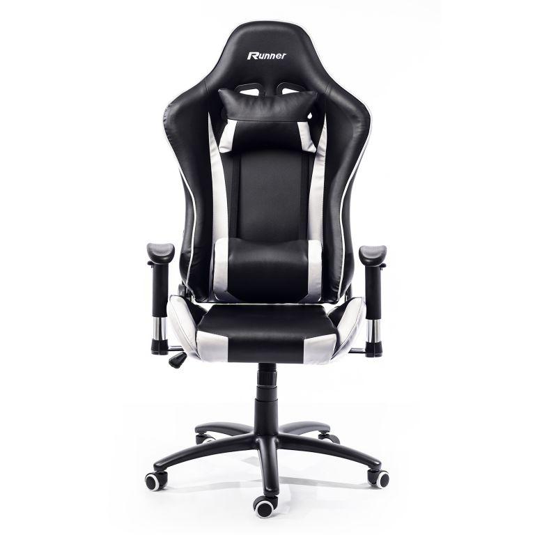 Kancelárska stolička - kreslo NEBRASKA - sivá