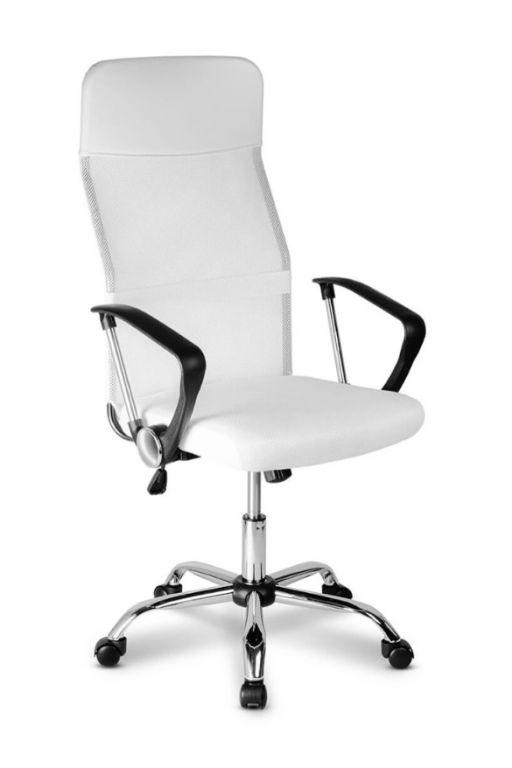 Kancelárska stolička Oregon, biela