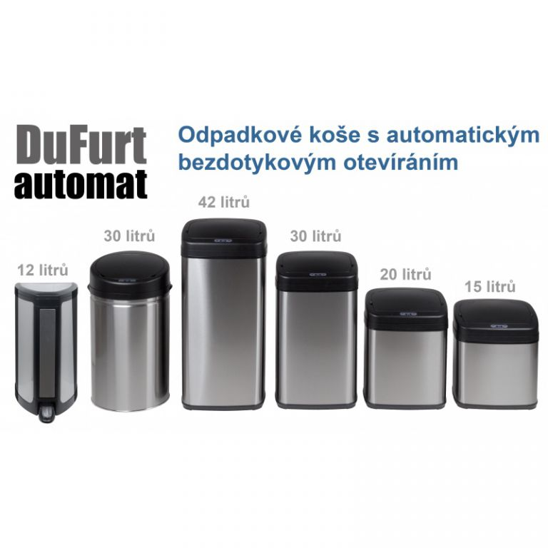 Bezdotykový kôš na odpad DuFurt OK12NX