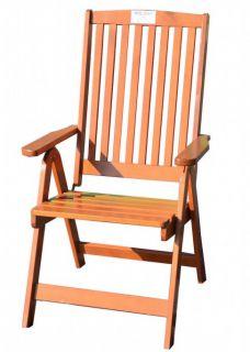 Záhradná skladacia stolička HOLIDAY lakovaná FSC