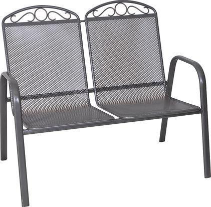 Záhradná kovová lavica ZWMC-S28