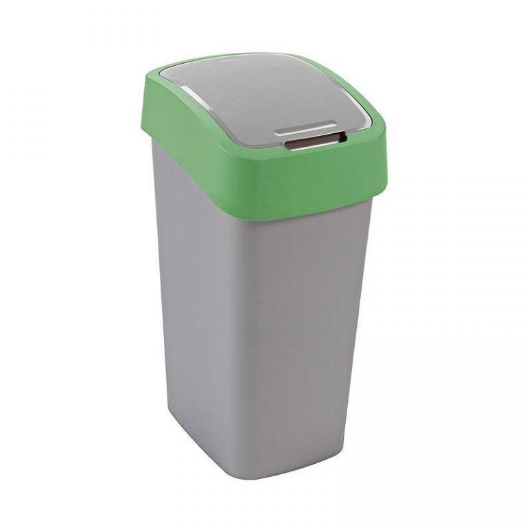 Odpadkový koš FLIPBIN 50l - zelený CURVER