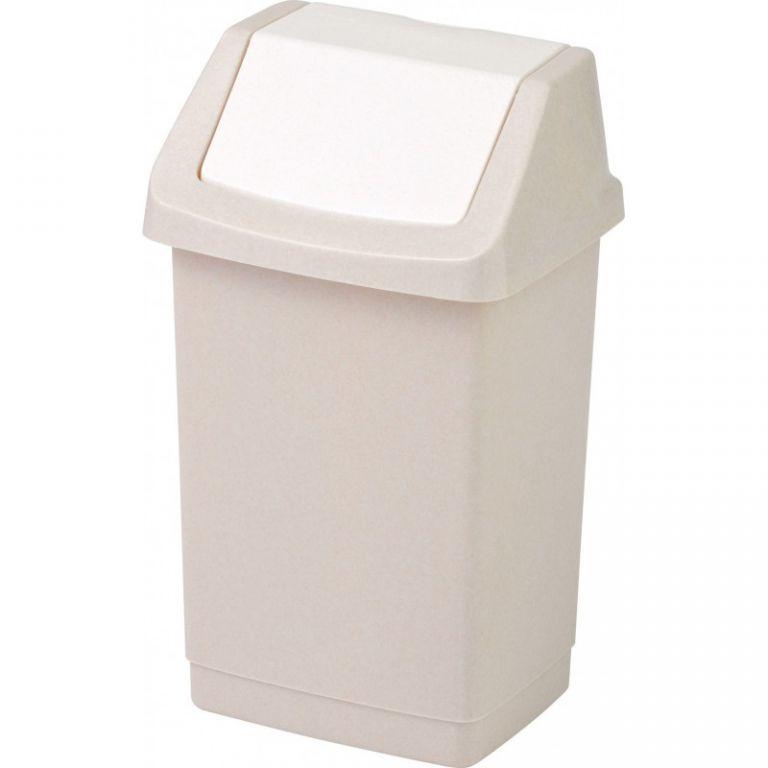 Koš odpadkový CLICK 9l - savanna CURVER