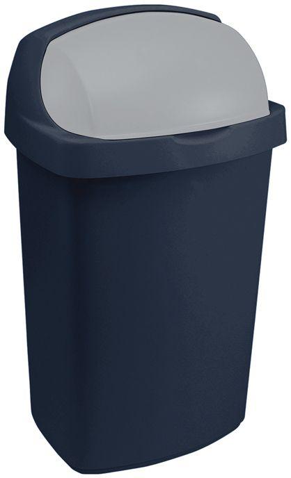 Koš na odpadky ROLL TOP 10 l - modrý