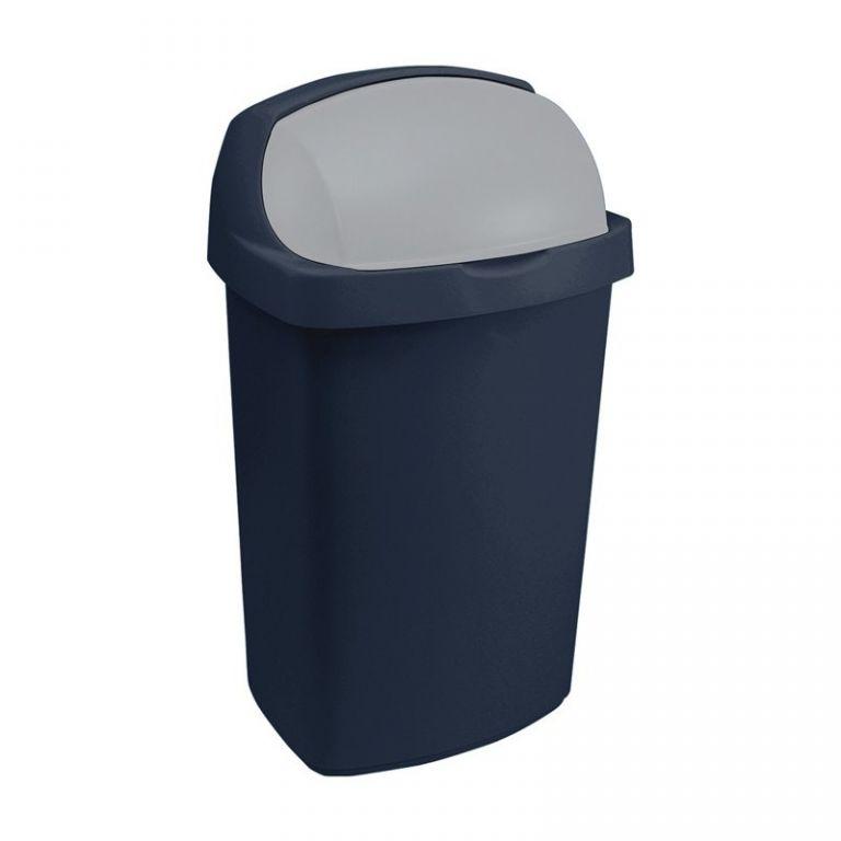 Koš odpadkový ROLL TOP 25 l - modrý CURVER