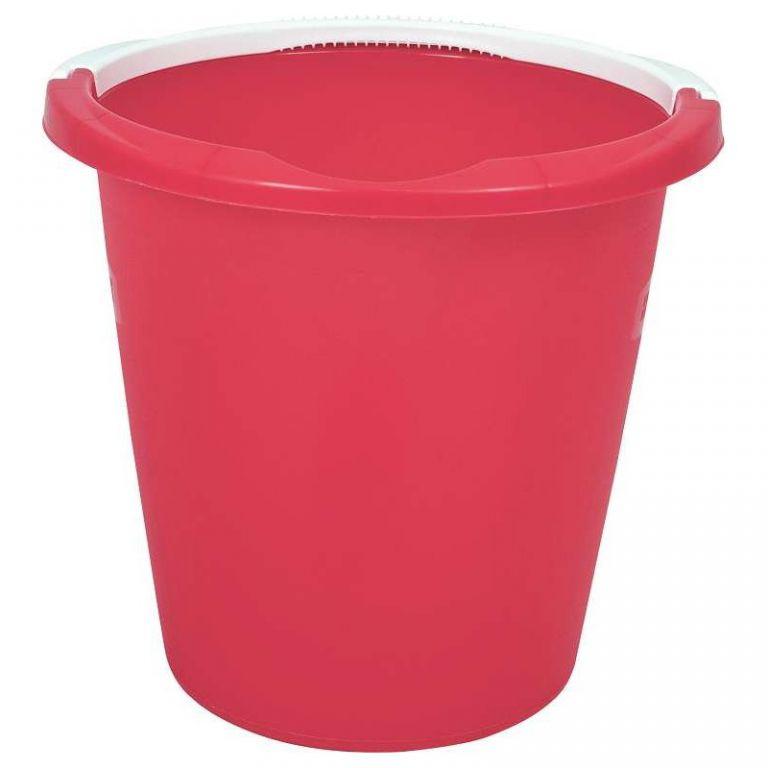 Úklidový kbelík 10l - červený CURVER