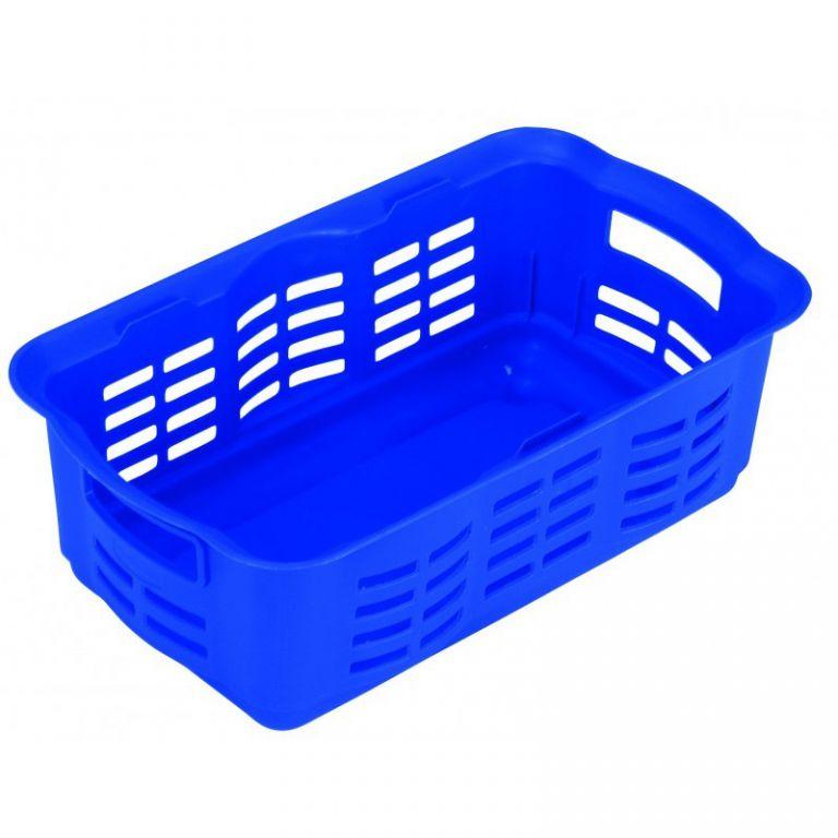 košík na drobné předměty - S - modrý CURVER
