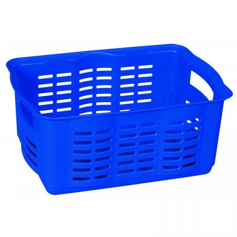 CURVER Košík na drobné předměty - M - modrý