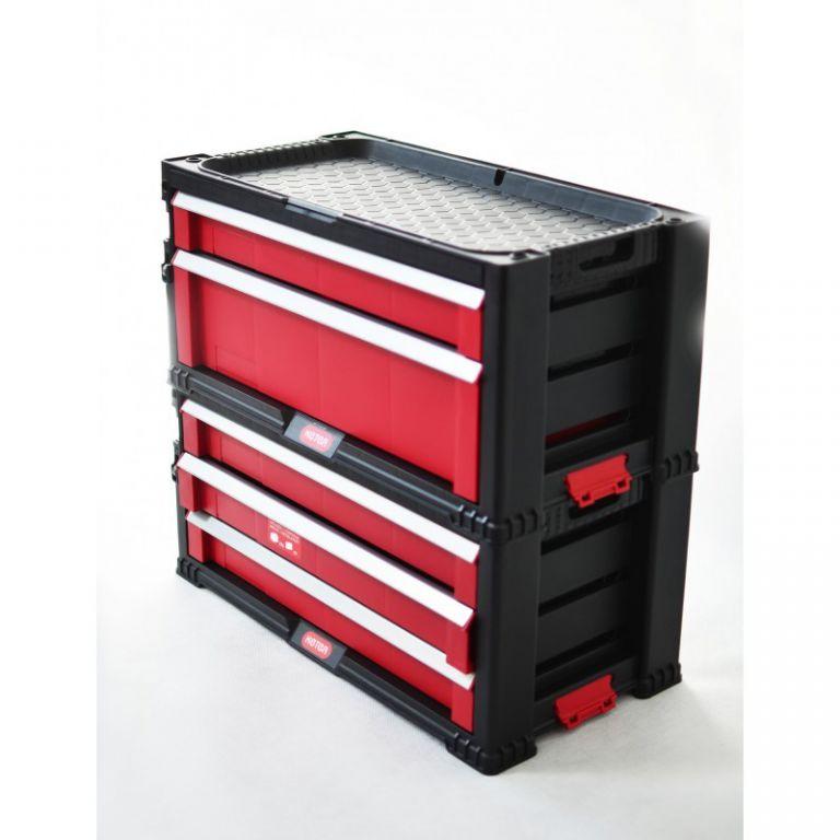 Box na náradie KETER - 2 zásuvky