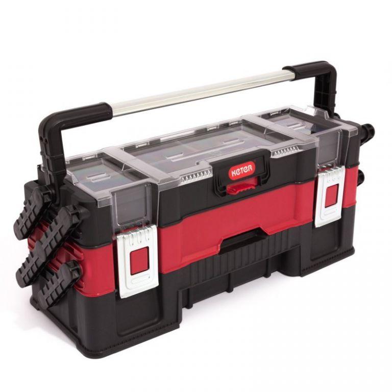 Kufrík na náradie KETER TRIO - 3-dílný