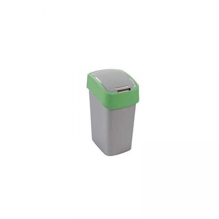 Odpadkový koš FLIPBIN 10l - zelený CURVER