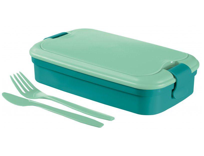 Cestovný box LUNCH & GO - modrý CURVER