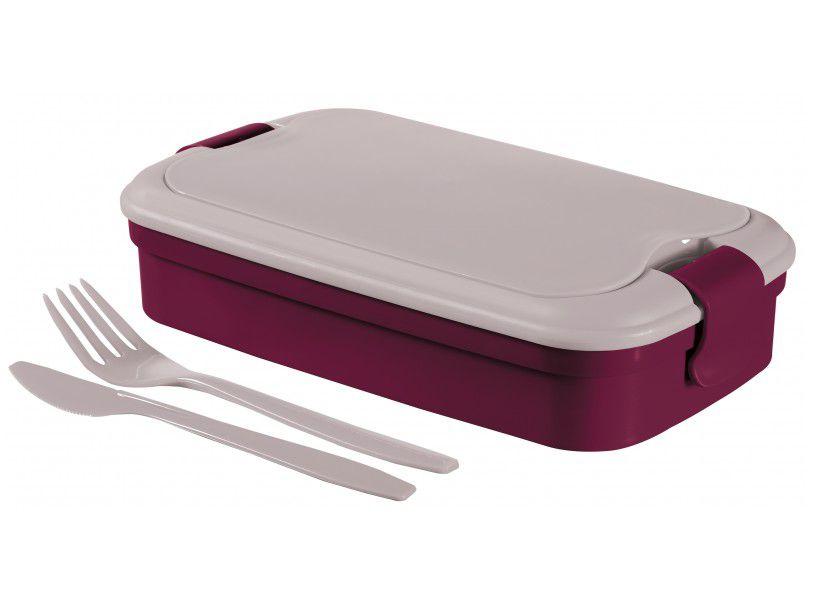Cestovný box LUNCH & GO - fialový CURVER