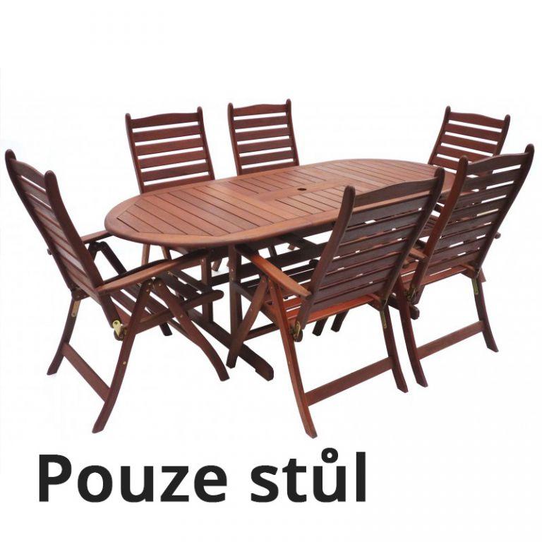 Dřevěný stůl MARINA
