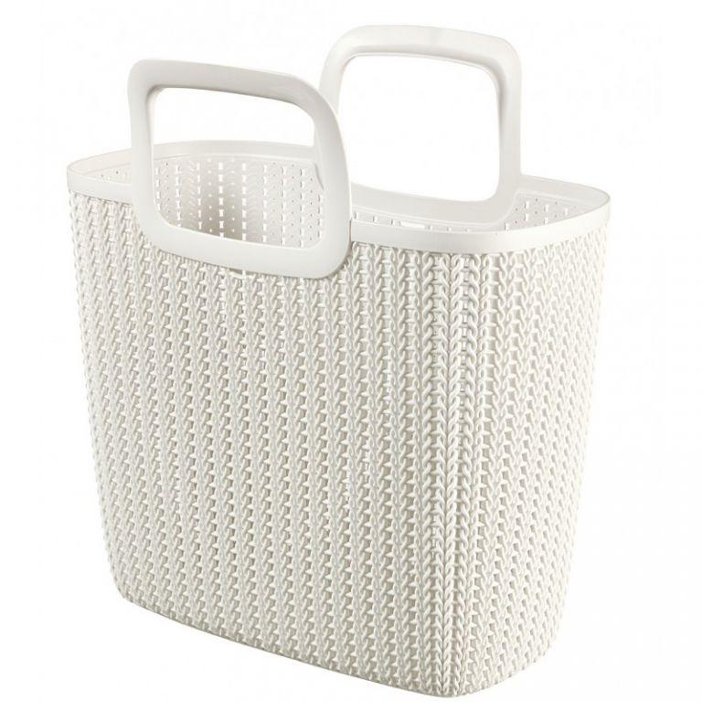 Nákupná taška KNIT - krémová