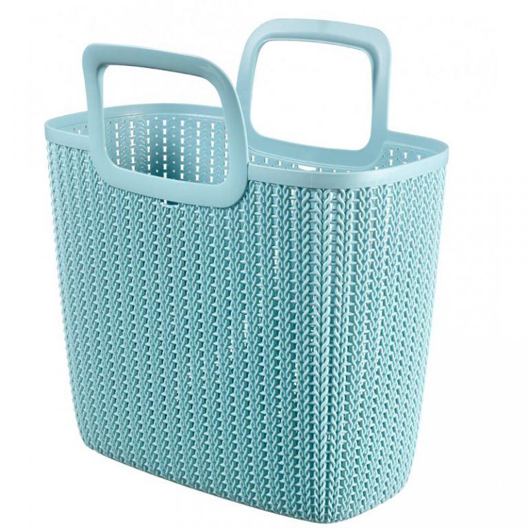 Nákupní taška KNIT - modrá