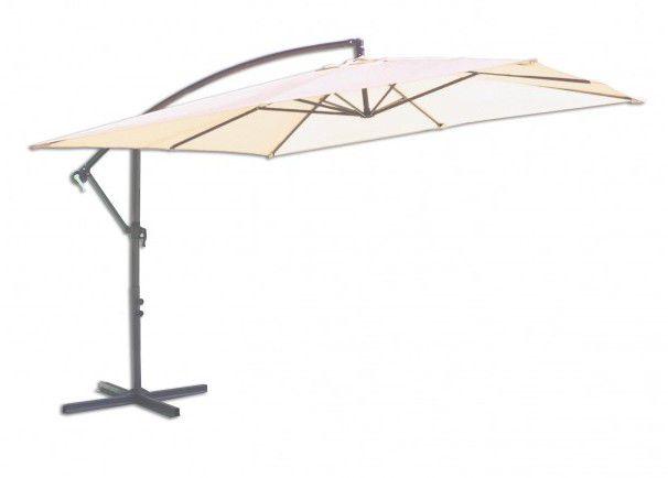 Štvorcový slnečník 8080 bočný béžový 270 x 270 cm