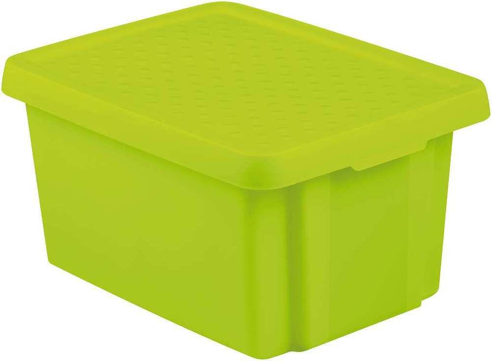 Úlložný box s vekom CURVER- zelený 16 l