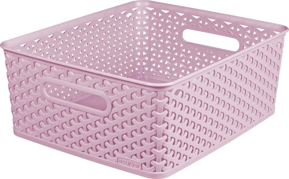 CURVER košíček - M - ružový