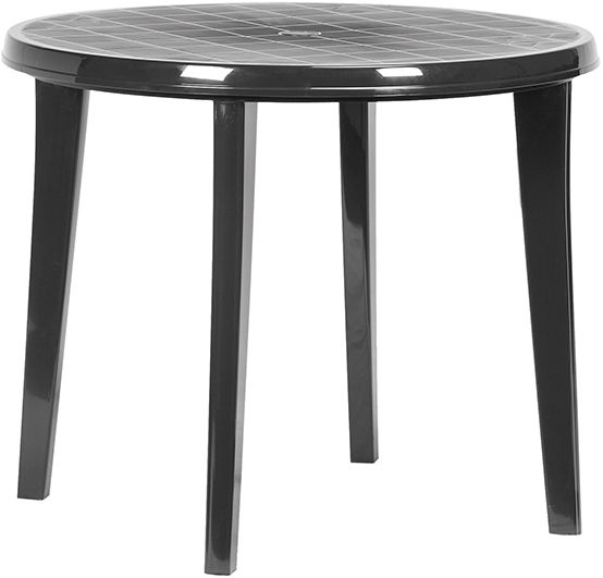 Záhradný plastový stôl LISA - grafit