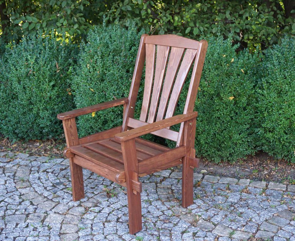 Záhradné drevené kreslo MORENO