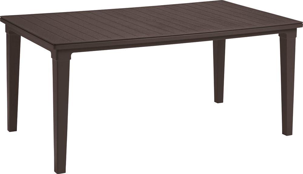 Záhradný stôl FUTURA – hnedá