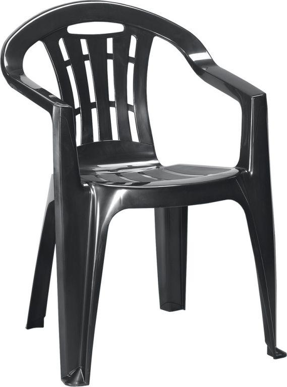 Záhradná stolička MALLORCA - grafit