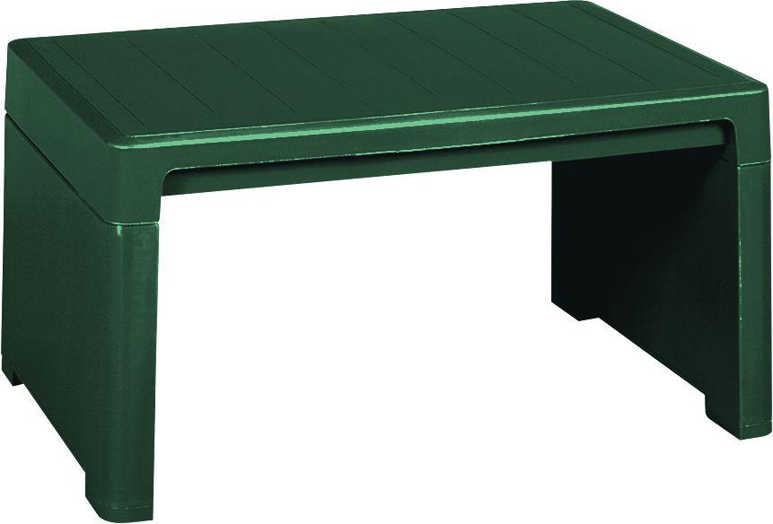 Záhradný plastový stolík LAGO zelený