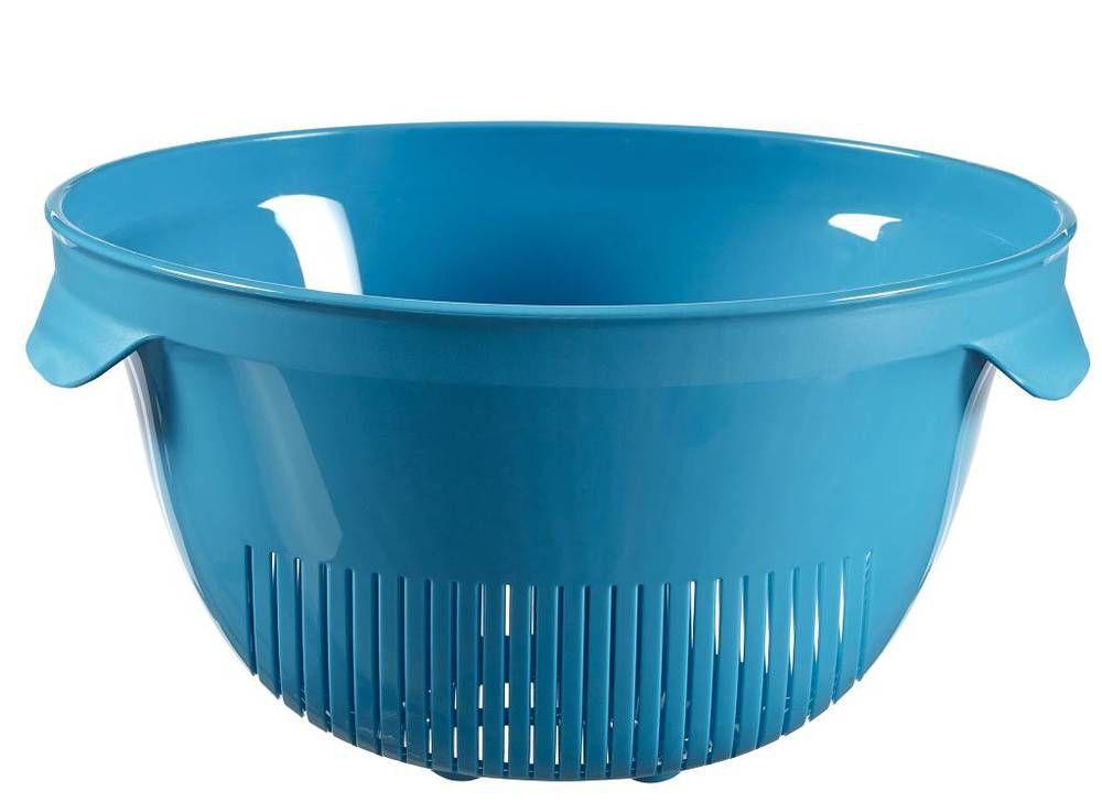Cedidlo guľaté ESSENTIALS - modrý