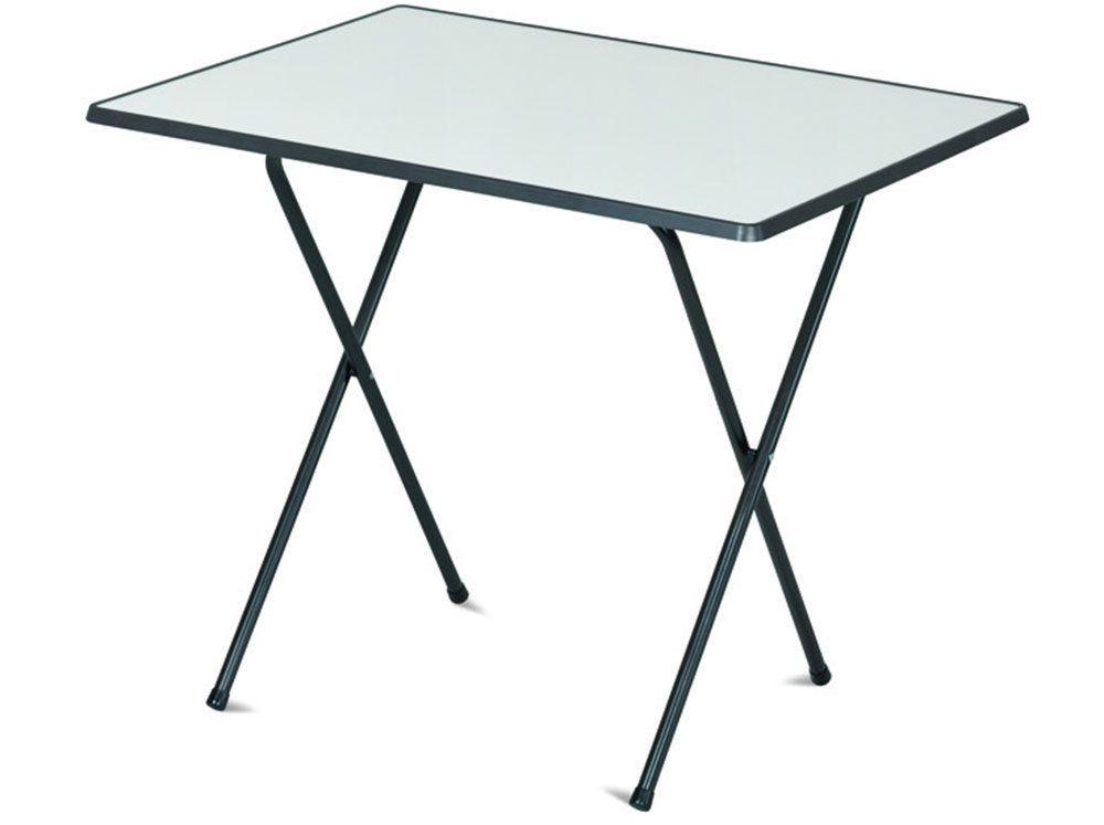 Stôl 60 x 80 camping SEVELIT antracit/biela