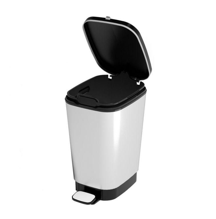 Odpadkový kôš CHIC 10 L - strieborný