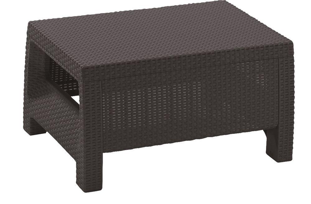 Záhradný stôl CORFU - hnedá