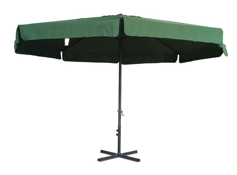 Záhradný slnečník STANDART 3 m - zelený