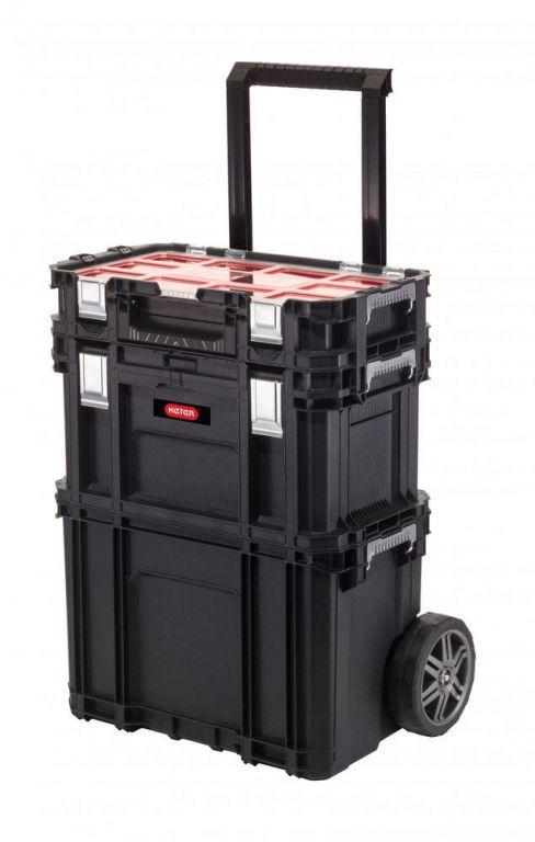 Kufrík na náradie KETER - Connect Rolling Work SET