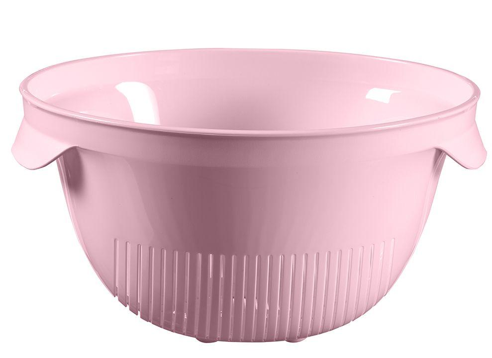 Plastové cedidlo ESSENTIALS guľaté - ružové
