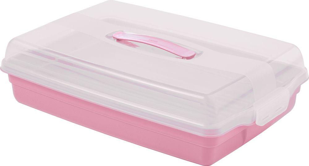 Plastový PARTY BOX - ružový