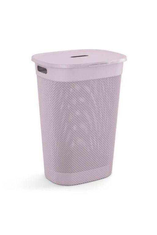 Plastový FILO kôš na bielizeň - ružový